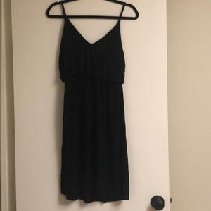 Motherhood Black Summer Dress Sz Small